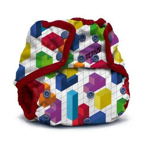 KangaCare Rumparooz One Size Snap Cover - Tetris Block Party