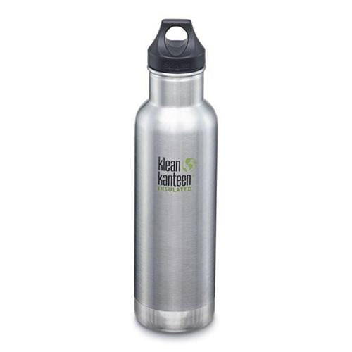 Klean Kanteen 20 oz Insulated Classic - Brushed Stainless
