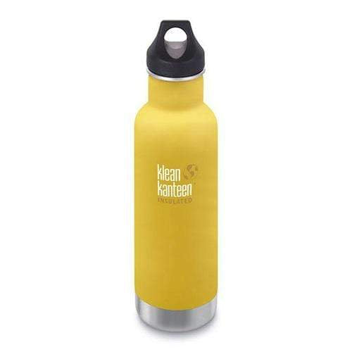Klean Kanteen 20 oz Insulated Classic - Lemon Curry
