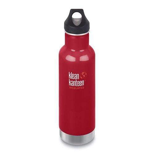 Klean Kanteen 20 oz Insulated Classic - Mineral Red