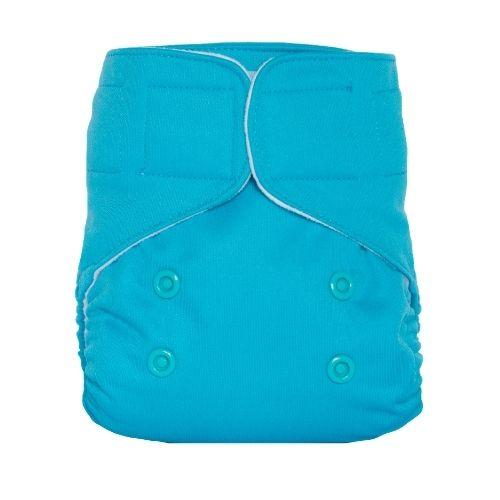 Lalabye Baby Newborn All In Two Cloth Pocket Diaper - Baby Beluga Newborn