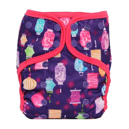 Lalabye Baby One Size Diaper Cover - Illuminate