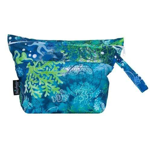 Lalabye Baby Quick Trip Wet/Dry Bag - Seven Seas