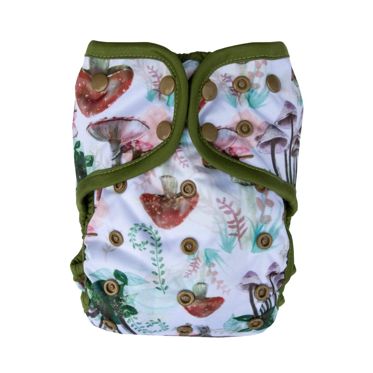 Lighthouse Kid's Company Diaper Cover & Insert - Toadstool