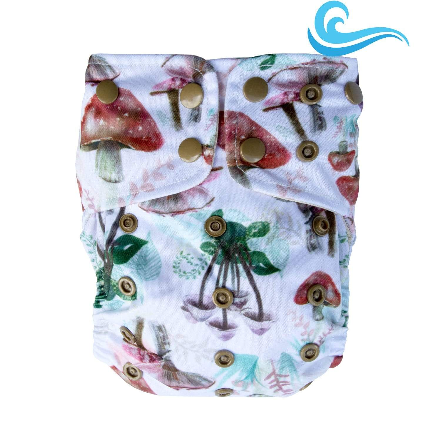 Lighthouse Kid's Company Snap Supreme Swim Diaper - Toadstool