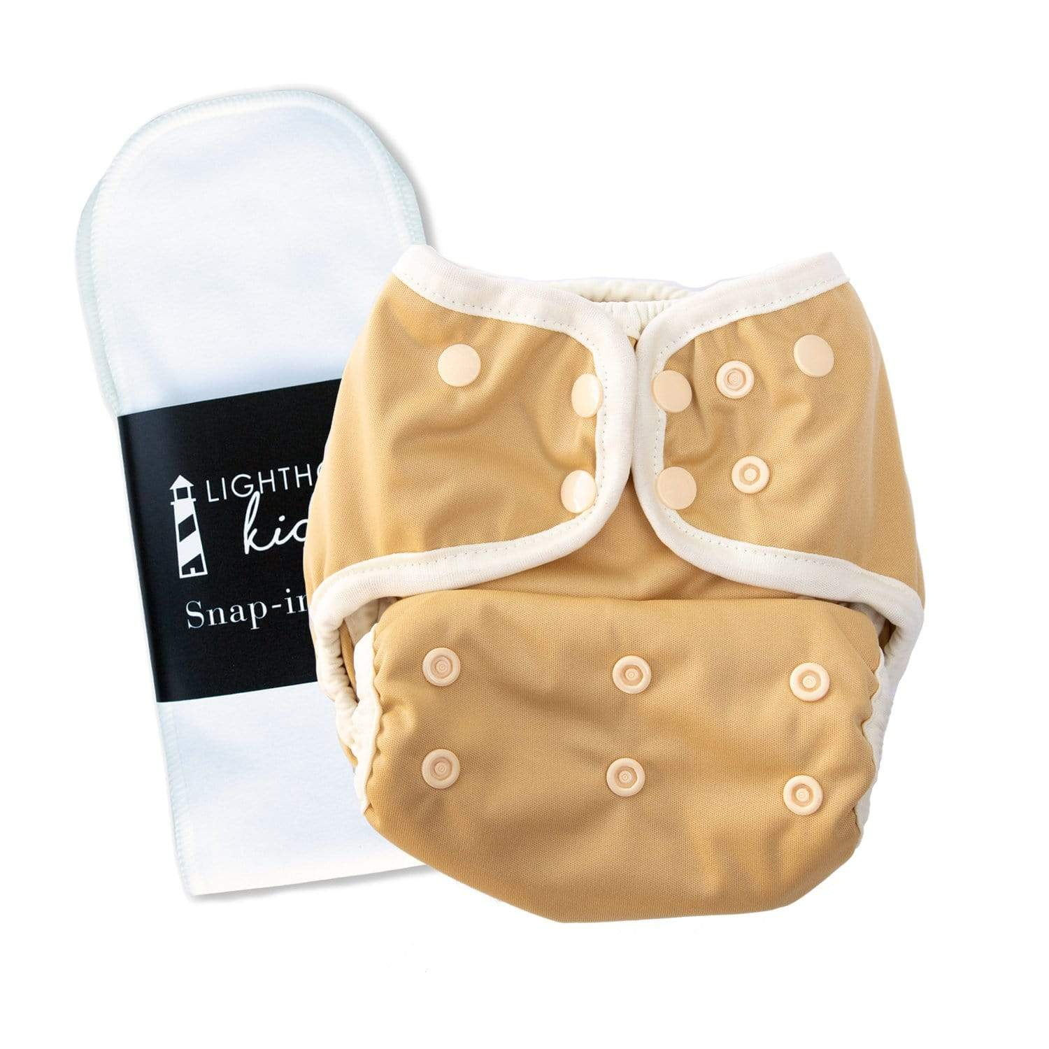 Lighthouse Kid's Company Switch Diaper Cover & Insert - Buttercup