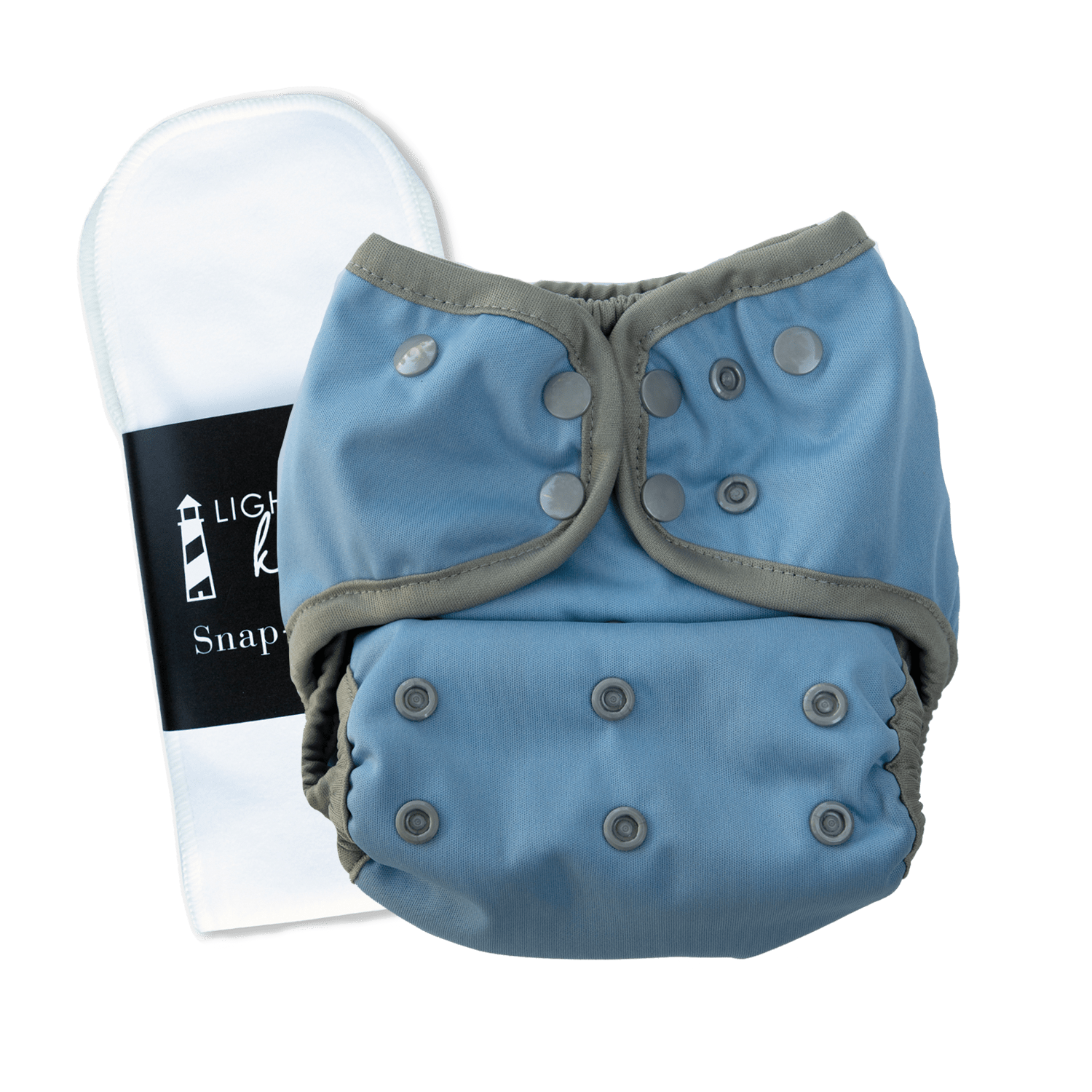 Lighthouse Kid's Company Switch Diaper Cover & Insert - Cielo