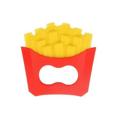 Loulou Lollipop Silicone Teether Single - Fries