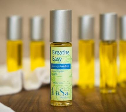 LuSa Essential Oil Roll on - Breathe Easy Cypress, Pine and Fir