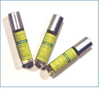 LuSa Essential Oil Roll on - Energizing Ginger, Rosemary and Peppermint