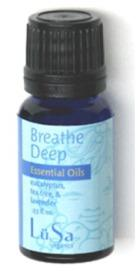LuSa Essential Oils - Breathe Deep Eucalyptus, Tea Tree and Lavender