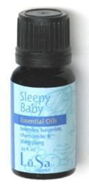LuSa Essential Oils - Sleepy Baby Lavender, Tangerine and Chamomile