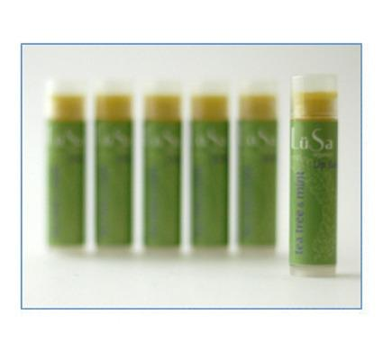 LuSa Lip Balm - Tea Tree and Mint