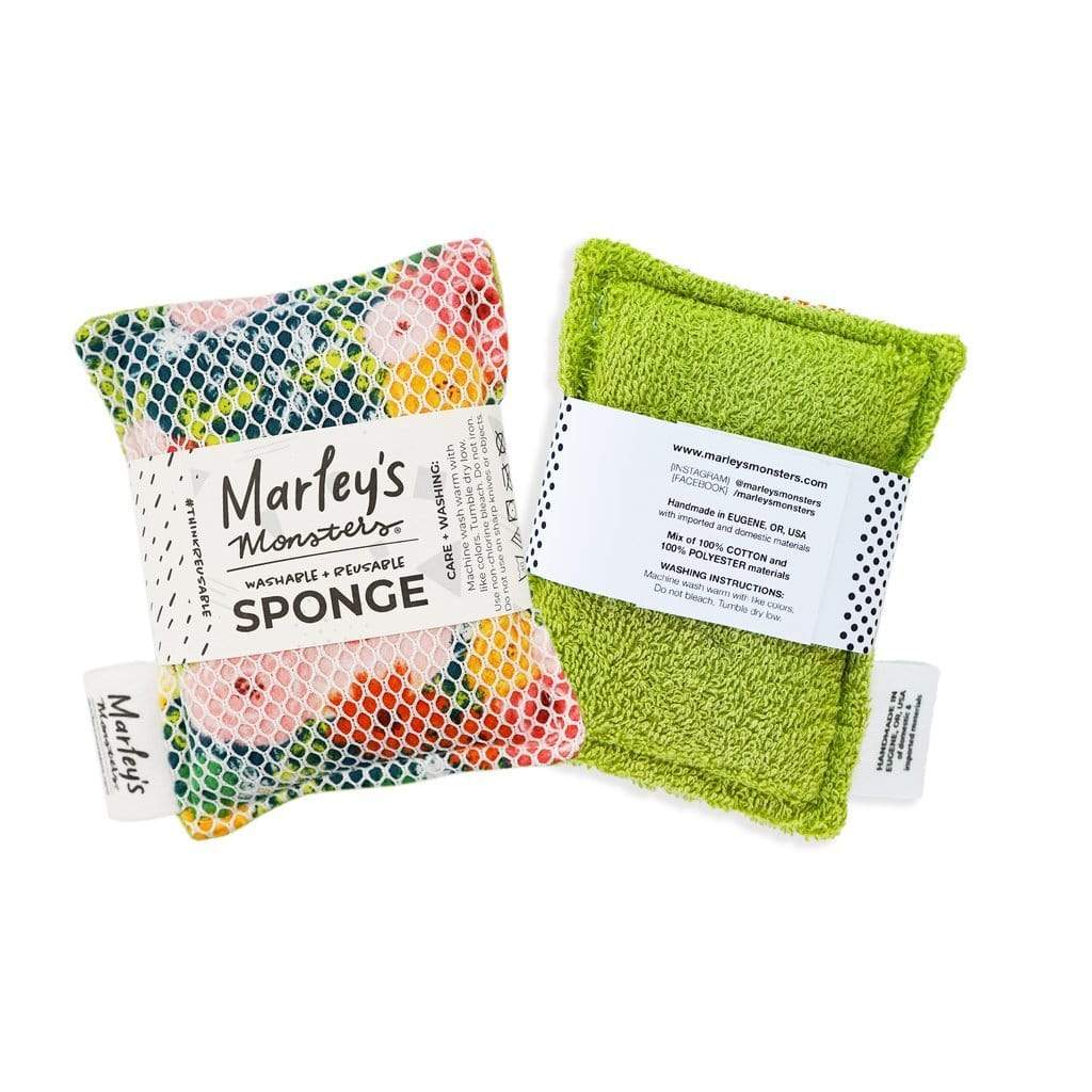 Marley's Monsters Washable Sponge - Green