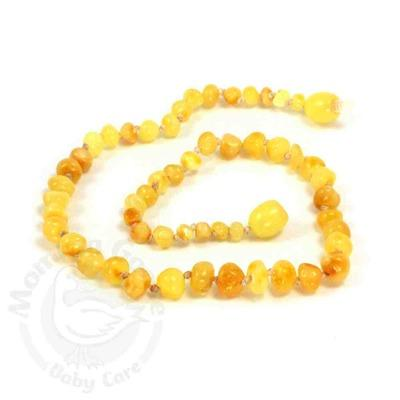 Momma Goose Baltic Amber Teething Necklace - Milky
