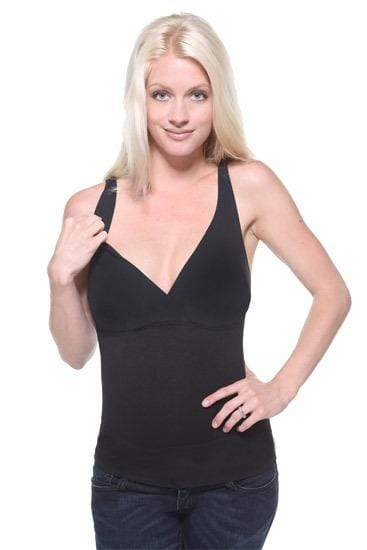 Mother Tucker V Neck Tank - Black