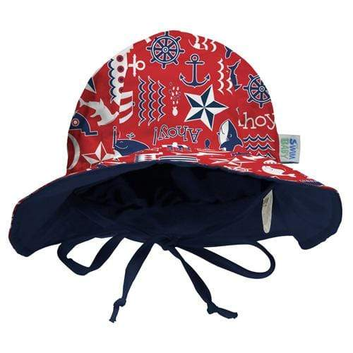 My Swim Baby Reversible Sun Hat - Ahoy