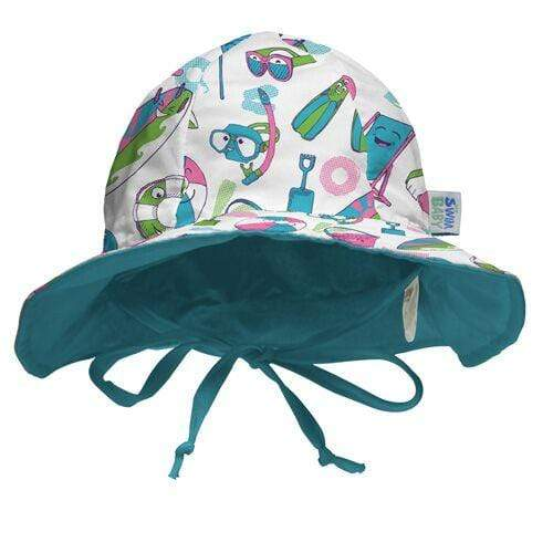 My Swim Baby Reversible Sun Hat - Salty Toes