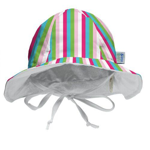 My Swim Baby Reversible Sun Hat - Seaside Stripes