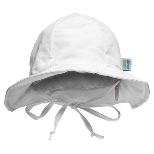 My Swim Baby Reversible Sun Hat - White