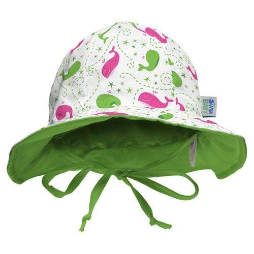 My Swim Baby Reversible Sun Hat - Wilma the Whale