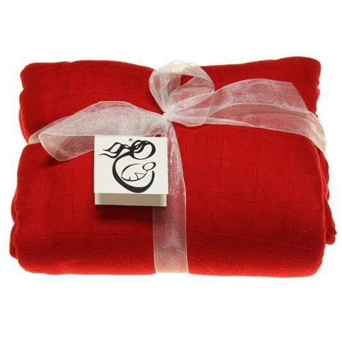 Nicki's Diapers Bamboo Security Blanket - Candy Cane