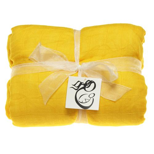 Nicki's Diapers Bamboo Security Blanket - Lemon Drop
