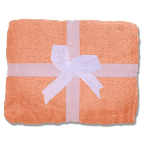 Nicki's Diapers Bamboo Security Blanket - Mango