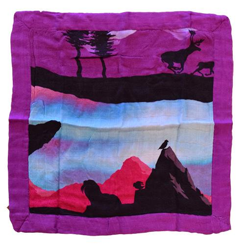 Nicki's Diapers Bamboo Security Blanket - Northern Lights