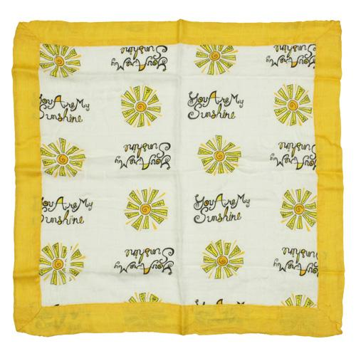 Nicki's Diapers Bamboo Security Blanket - You Are My Sunshine