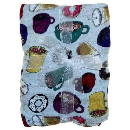 Nicki's Diapers Bamboo Snuggle Blanket - But Coffee First