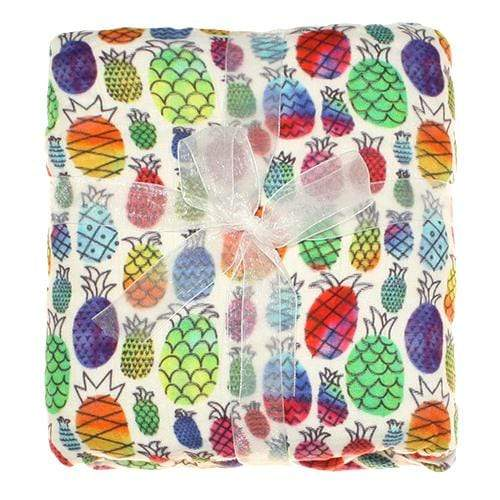 Nicki's Diapers Bamboo Snuggle Blanket - Pineapple Paradise
