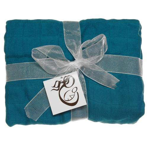 Nicki's Diapers Bamboo Swaddle Blankets - Lagoon