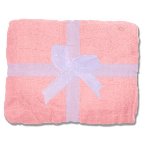 Nicki's Diapers Bamboo Throw Blanket - Grapefruit