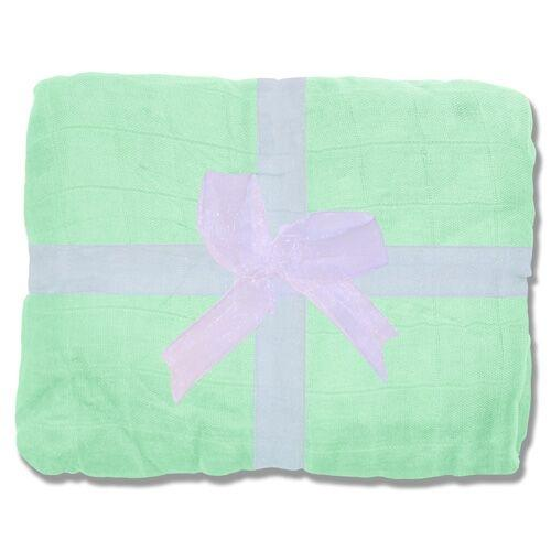 Nicki's Diapers Bamboo Throw Blanket - Key lime