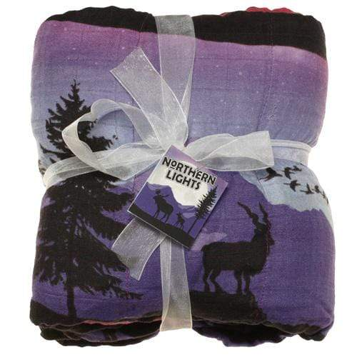 Nicki's Diapers Bamboo Throw Blanket - Northern Lights
