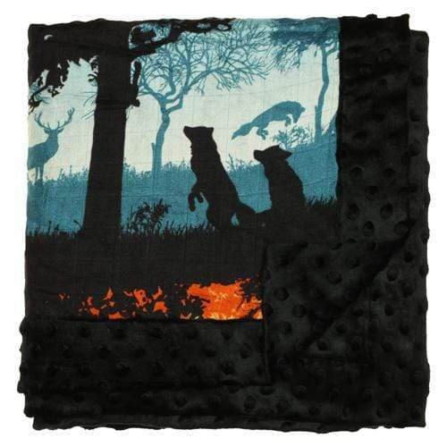 Nicki's Diapers Cuddle Blanket - Into the Woods