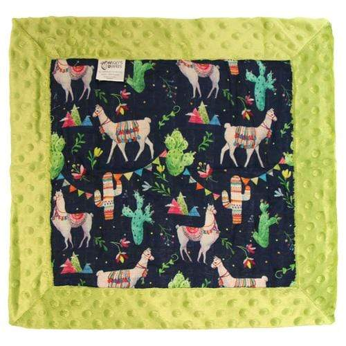 Nicki's Diapers Cuddle Security Blanket - Llama Party