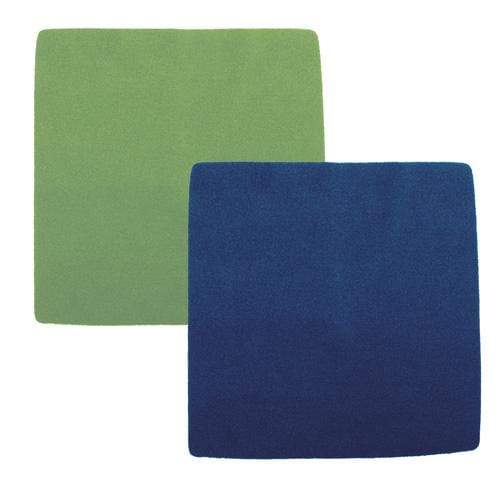 Nicki's Diapers Fleece Wipes - Green/Navy