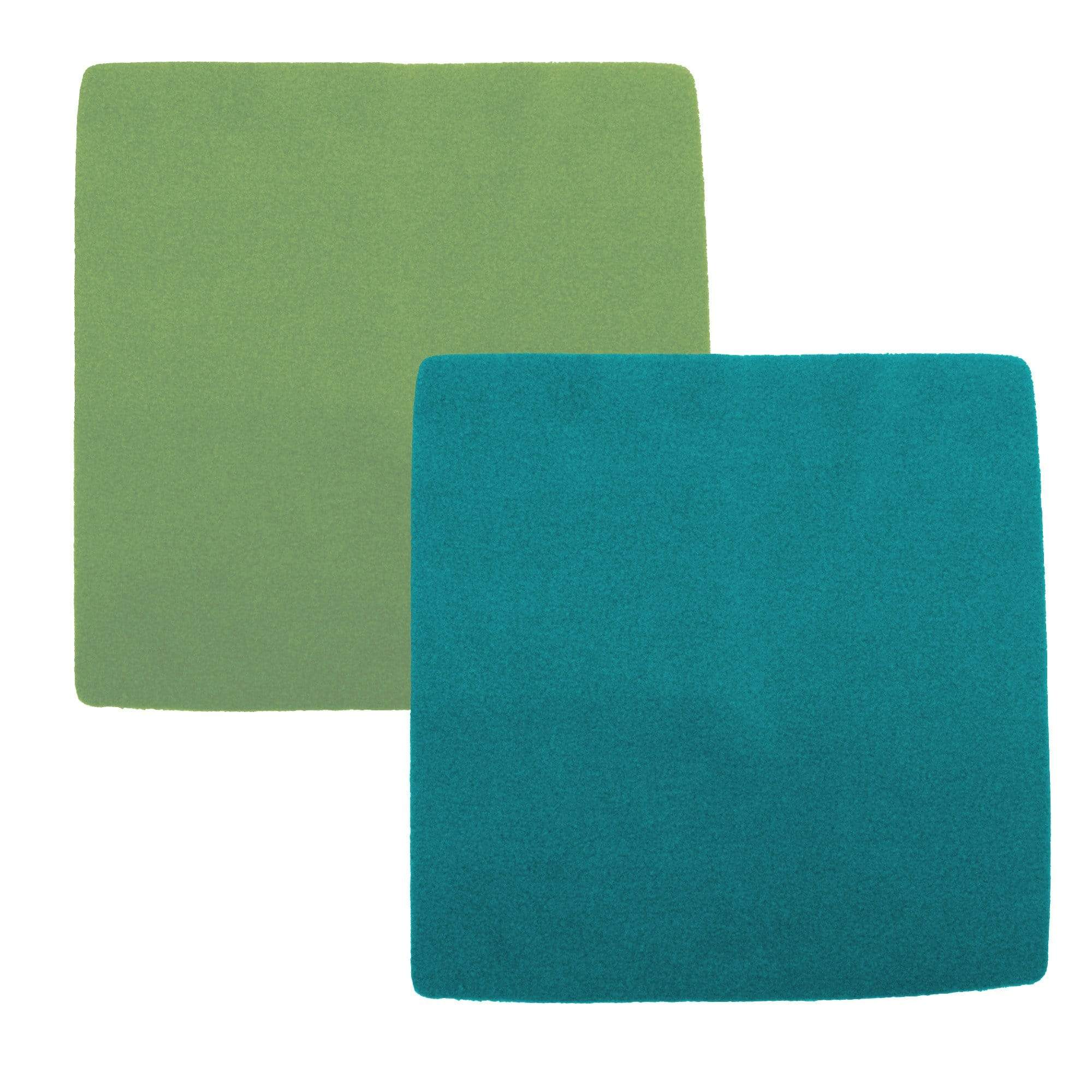 Nicki's Diapers Fleece Wipes - Green/Teal