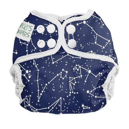 Nicki's Diapers Newborn Snap Diaper Cover - Little Dipper Newborn