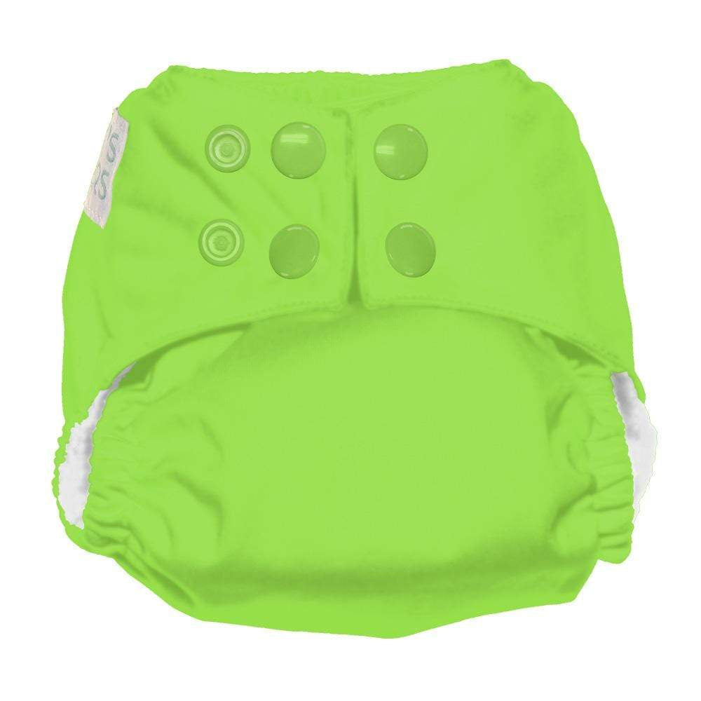 Nicki's Diapers Newborn Snap Ultimate All in One - Get Slimed Newborn