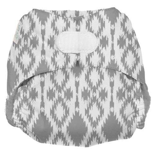 Nicki's Diapers One Size Hook and Loop Bamboo All in One - Stone