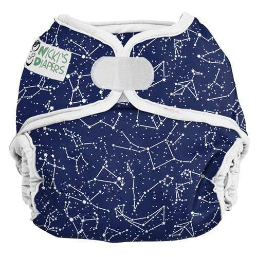 Nicki's Diapers One Size Hook and Loop Diaper Cover - Little Dipper