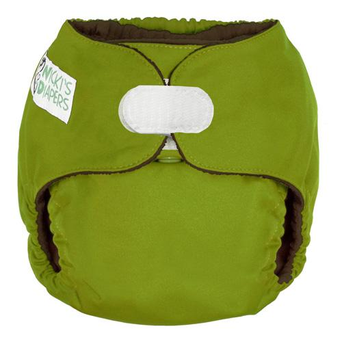 Nicki's Diapers One Size Hook and Loop Pocket - Caramel Apple