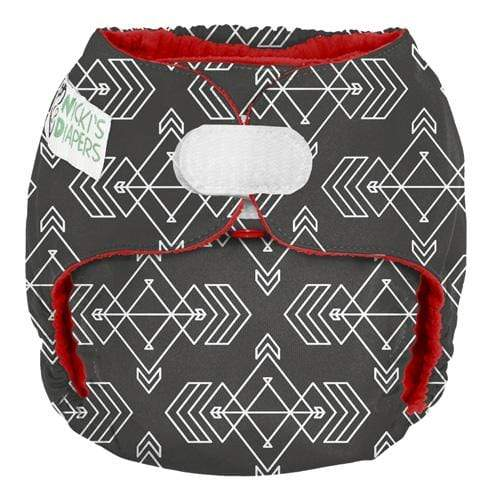 Nicki's Diapers One Size Hook and Loop Pocket - Compass Stone