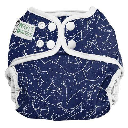 Nicki's Diapers One Size Snap Diaper Cover - Little Dipper