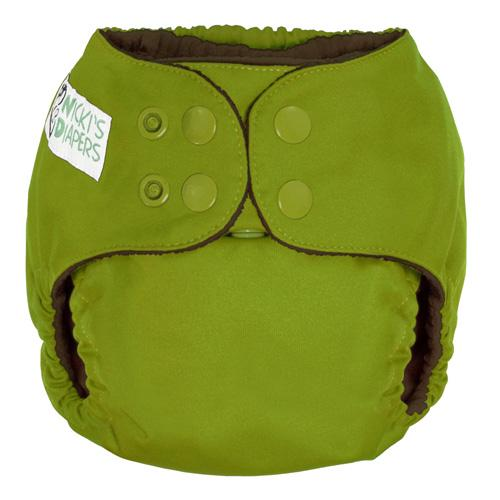 Nicki's Diapers One Size Snap Pocket - Caramel Apple