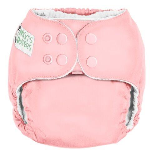 Nicki's Diapers One Size Snap Pocket - Grapefruit
