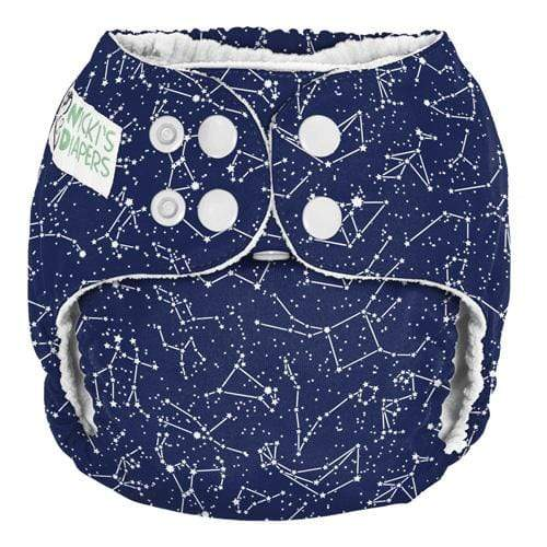 Nicki's Diapers One Size Snap Pocket - Little Dipper